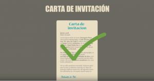 carta de invitacion para canada